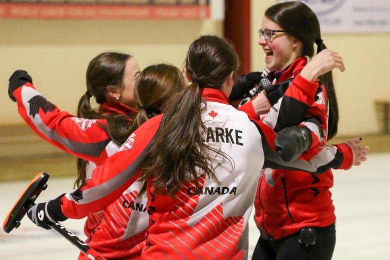 Scotland and Canada win titles at World Junior Curling Championships