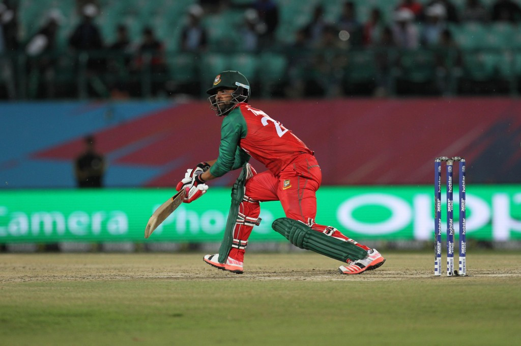 Tamim Iqbal blasted a century for Bangladesh in their win over Oman ©Getty Images