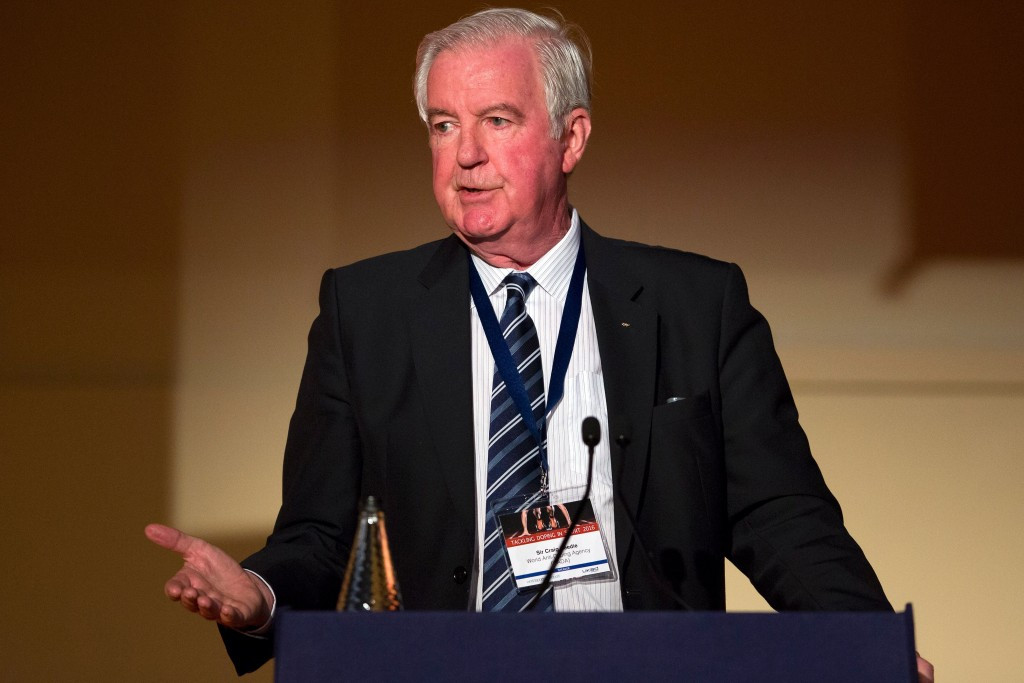 WADA President Craig Reedie has renewed a call for sponsors and broadcasters to help with funding