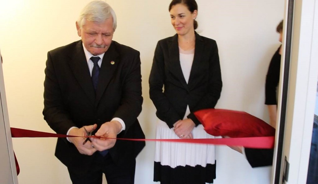 ICSD President Valery Rukhledev opened the organisation's new headquarters in Lausanne