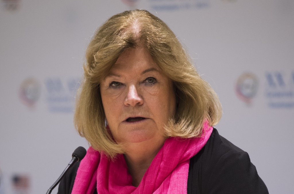 IOC Coordination Commission chair Gunilla Lindberg says construction progress at non-competition venues will be closely monitored ©Getty Images