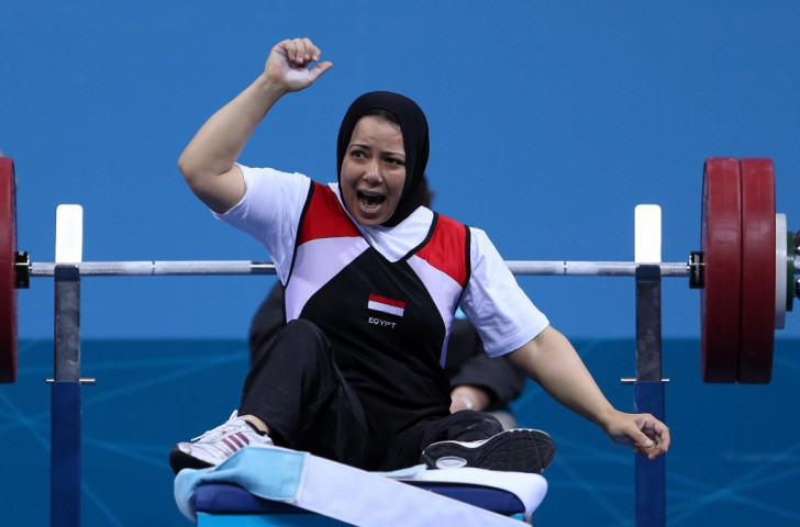 Egyptian powerlifter has two-year doping ban halved by Court of Arbitration for Sport