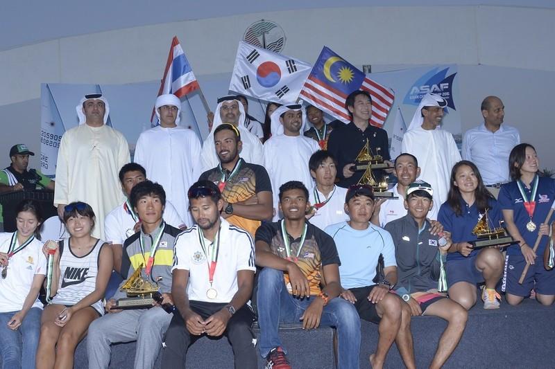 Japanese duo claim Rio 2016 sailing berth after winning 49er gold at ASAF Asian Championship