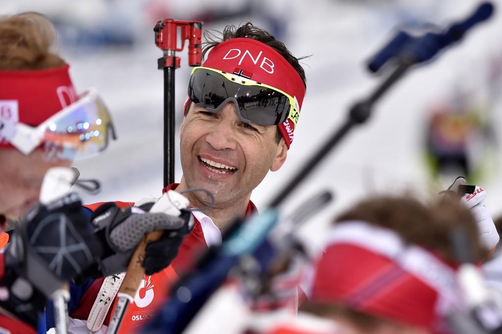 IOC member Bjørndalen could continue biathlon career until Pyeongchang 2018