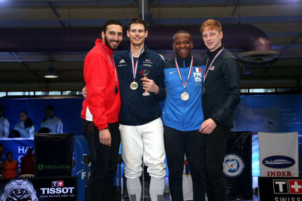Britain's Richard Kruse picked up his first Fencing Grand Prix gold medal in six years ©FIE