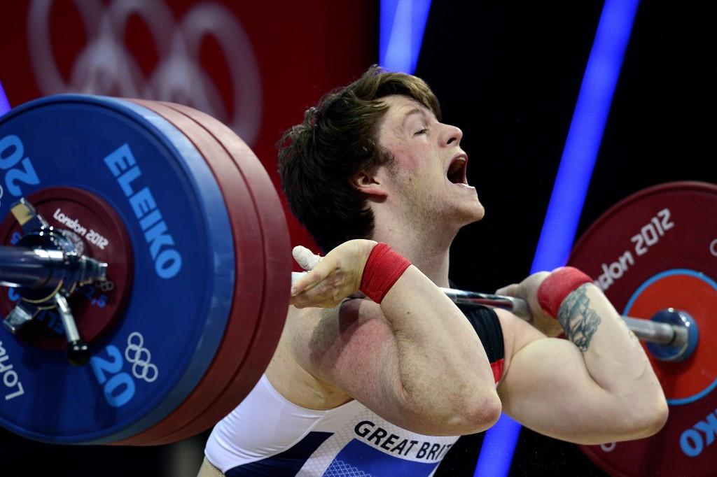 London 2012 Olympian Jack Oliver takes his place on the men's team