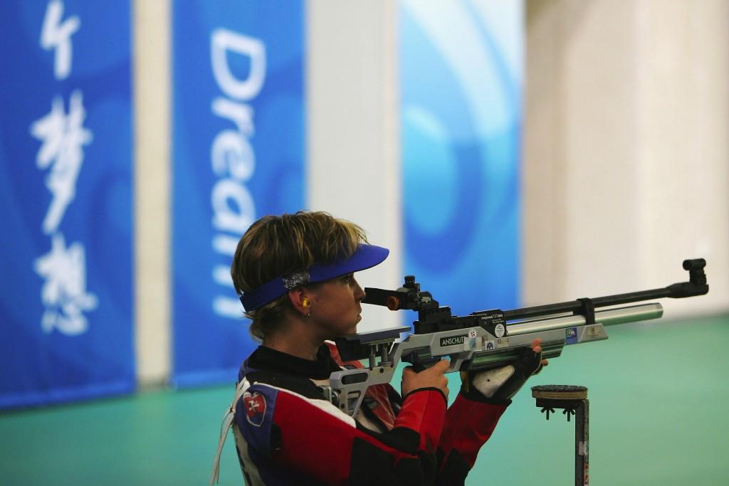 Vadovicova breaks world record at IPC Shooting World Cup