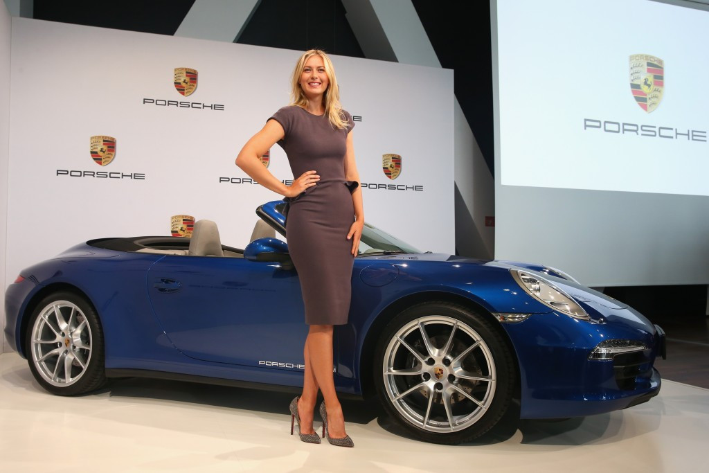 The news follows companies such as Porsche withdrawing their association with Sharapova