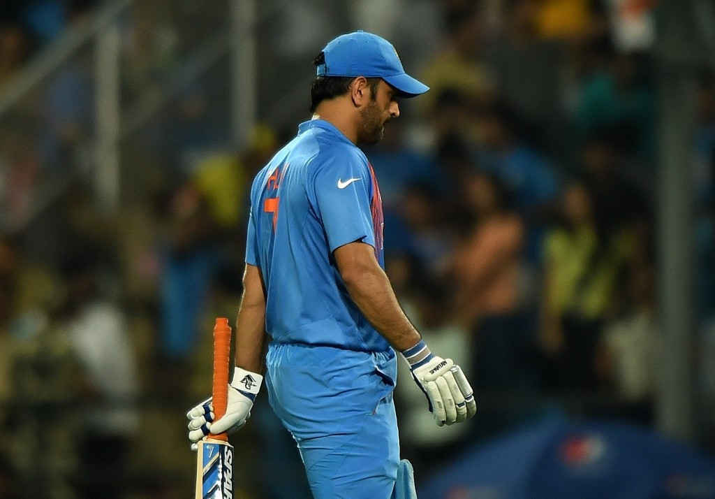 There was disappointment for India and captain MS Dhoni