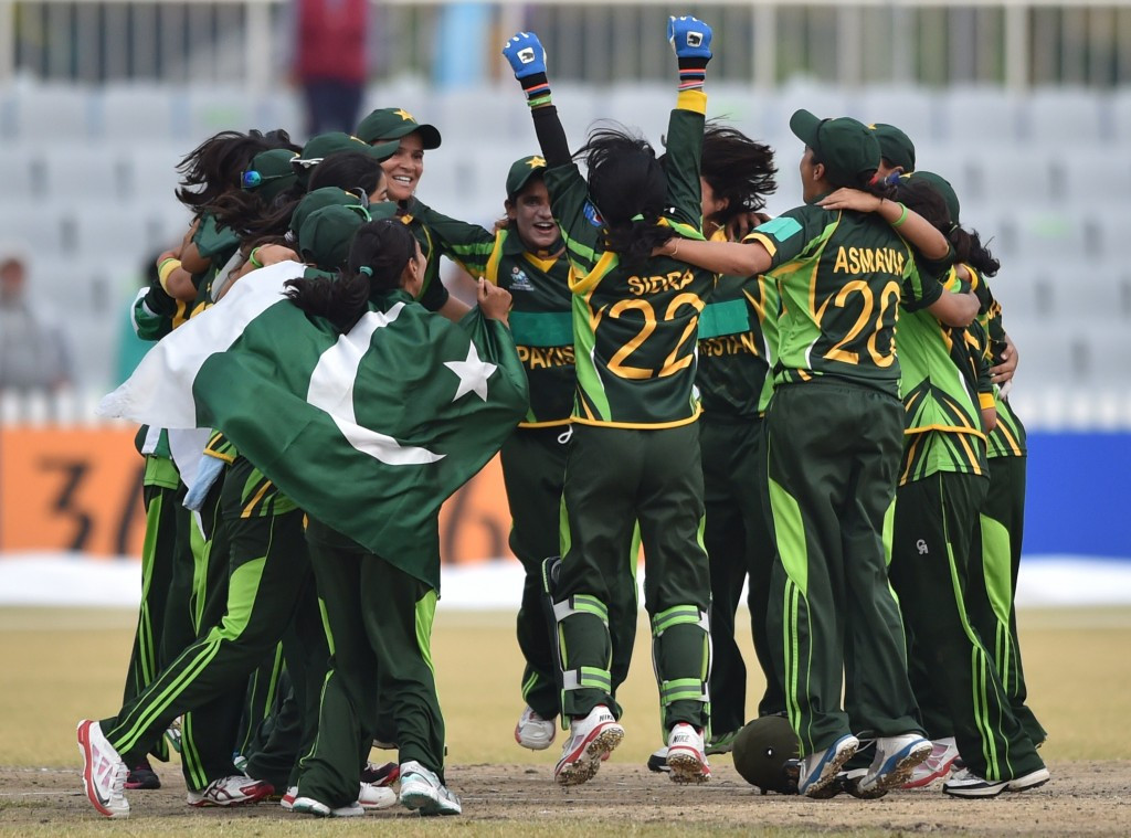Pakistan's women won Asian Games cricket gold at the 2014 event in Incheon