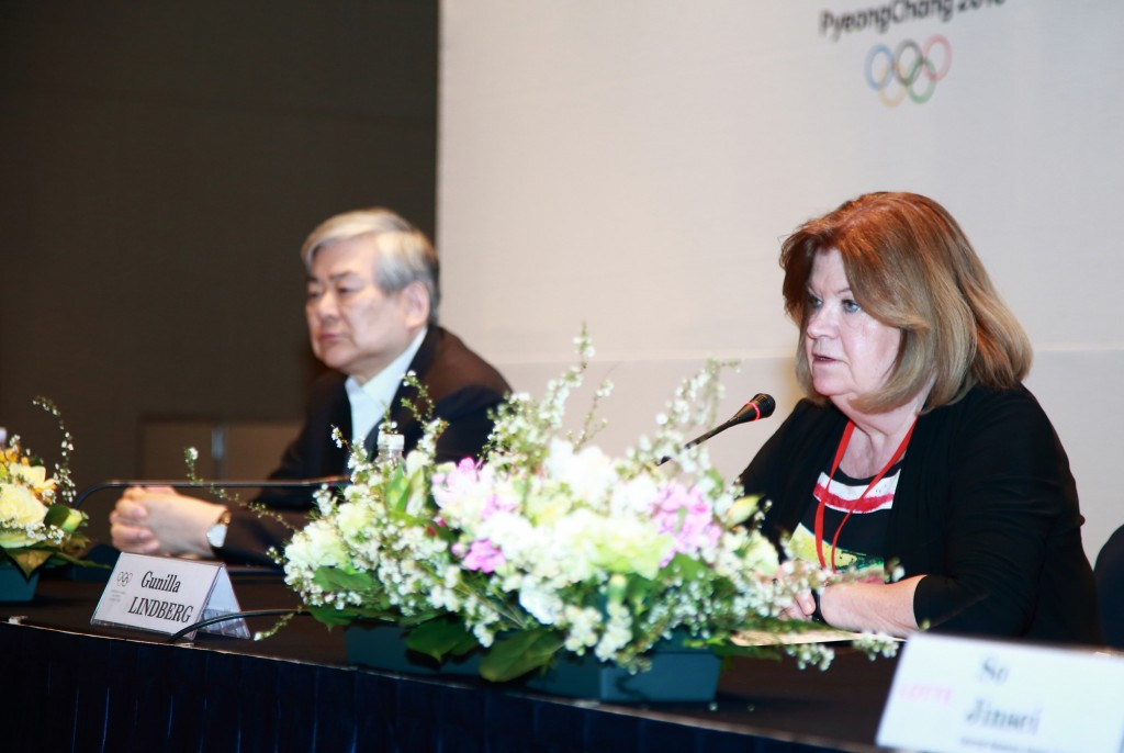 IOC Coordination Commission chair Gunilla Lindberg revealed that five more hotels will be built ahead of Pyeongchang 2018 ©Pyeongchang 2018