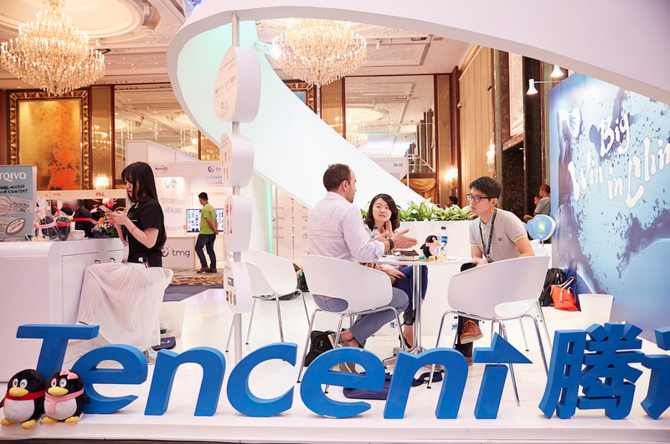 Internet giants Tencent use SPORTELAsia to showcase results of NBA partnership