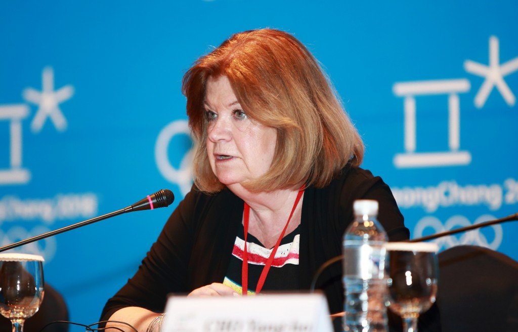 IOC Coordination Commission chair Gunilla Lindberg says the IOC will look into the deaths of two workers at Pyeongchang 2018 construction sites ©Pyeongchang 2018