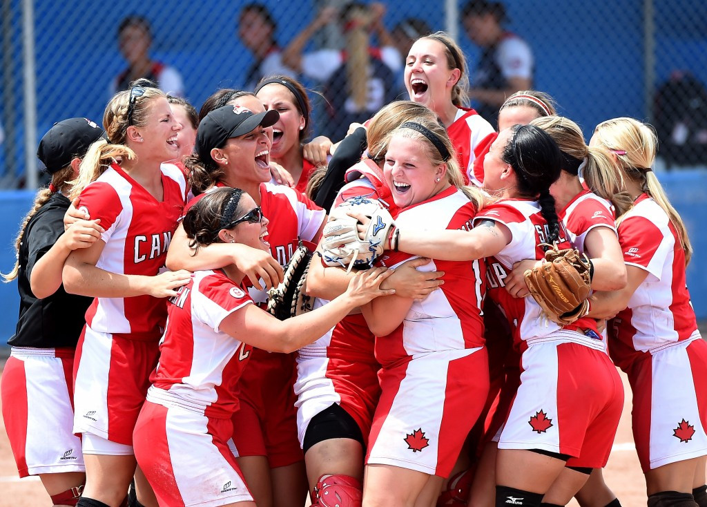 Hosts and Pan American Games champions Canada will play in section four
