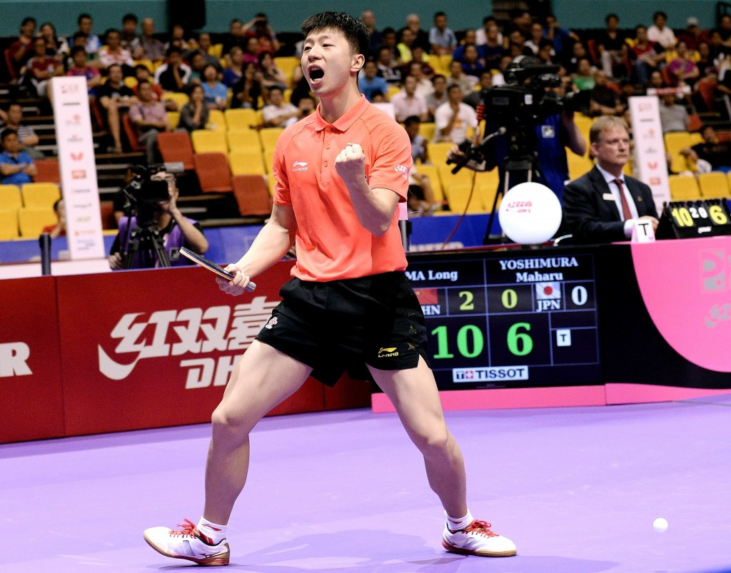 World number one Ma Long will look to continue his superb form at the Kuwait Open ©Getty Images