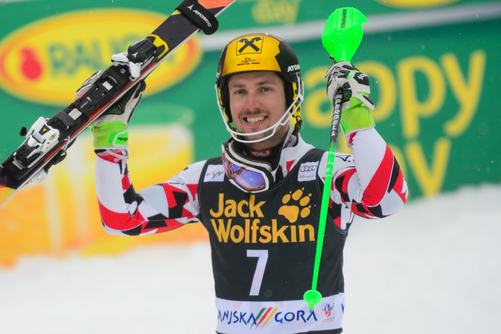Hirscher mathematically confirmed as FIS World Cup champion as Fill takes downhill crown