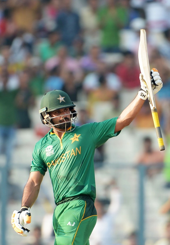 Mohammad Hafeez played a key innings for Pakistan in their win over Bangladesh