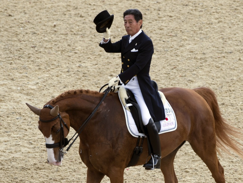 Japanese equestrian rider Hiroshi Hoketsu was the oldest competitor at London 2012 and could compete at Rio 2016