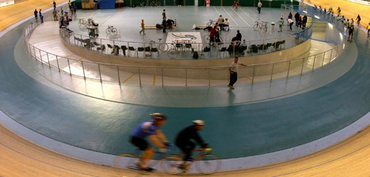 Newport's velodrome could form a part of the Cardiff Commonwealth Games bid ©Cardiff Cycling