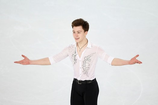 Aliev leads men's competition after personal best short programme at ISU World Junior Figure Skating Championships