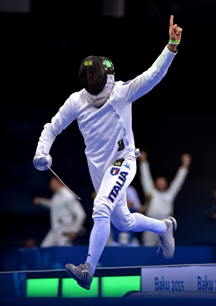 Italy has historically enjoyed success at fencing