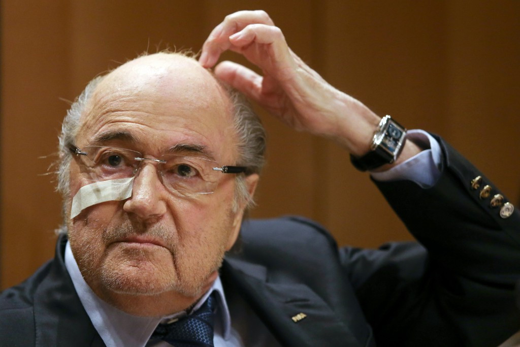 Sepp Blatter was deemed to have been reckless when he made the infamous payment to Michel Platini ©Getty Images