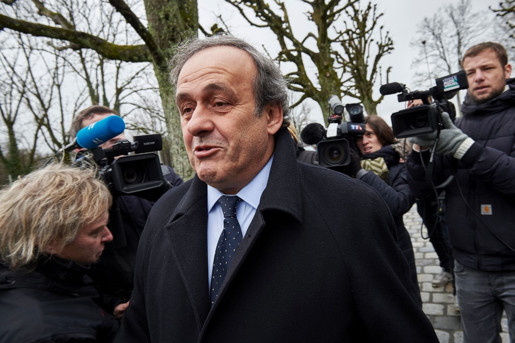 Michel Platini has already filed an appeal against his ban