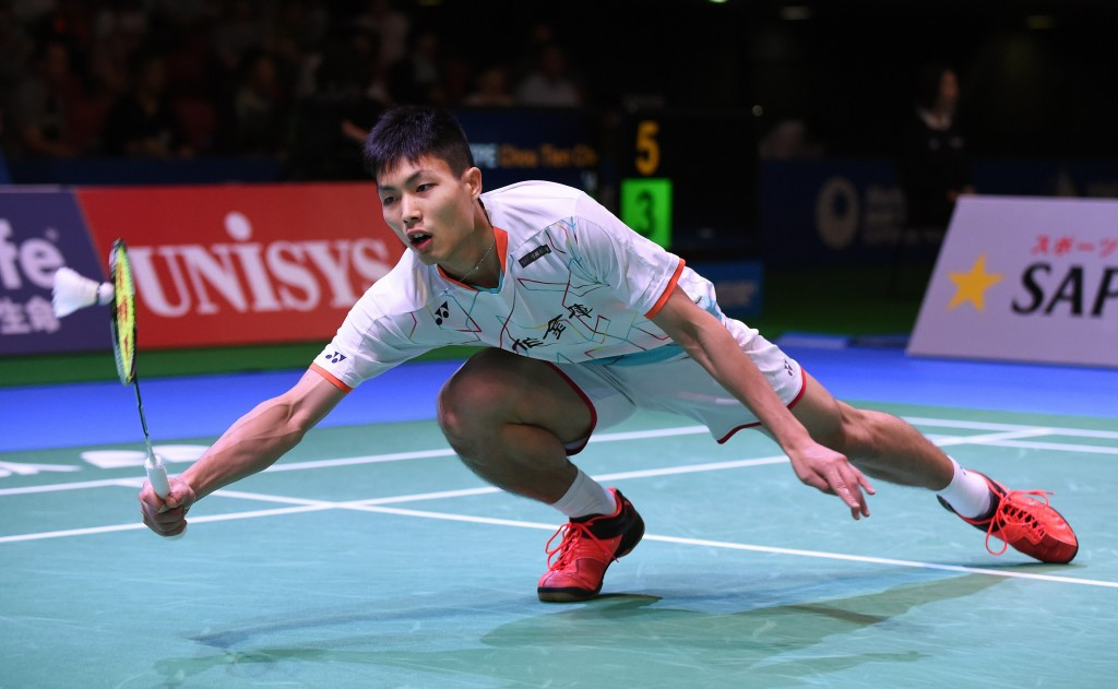 Chou Tien-chen comfortably progressed in the men's competition