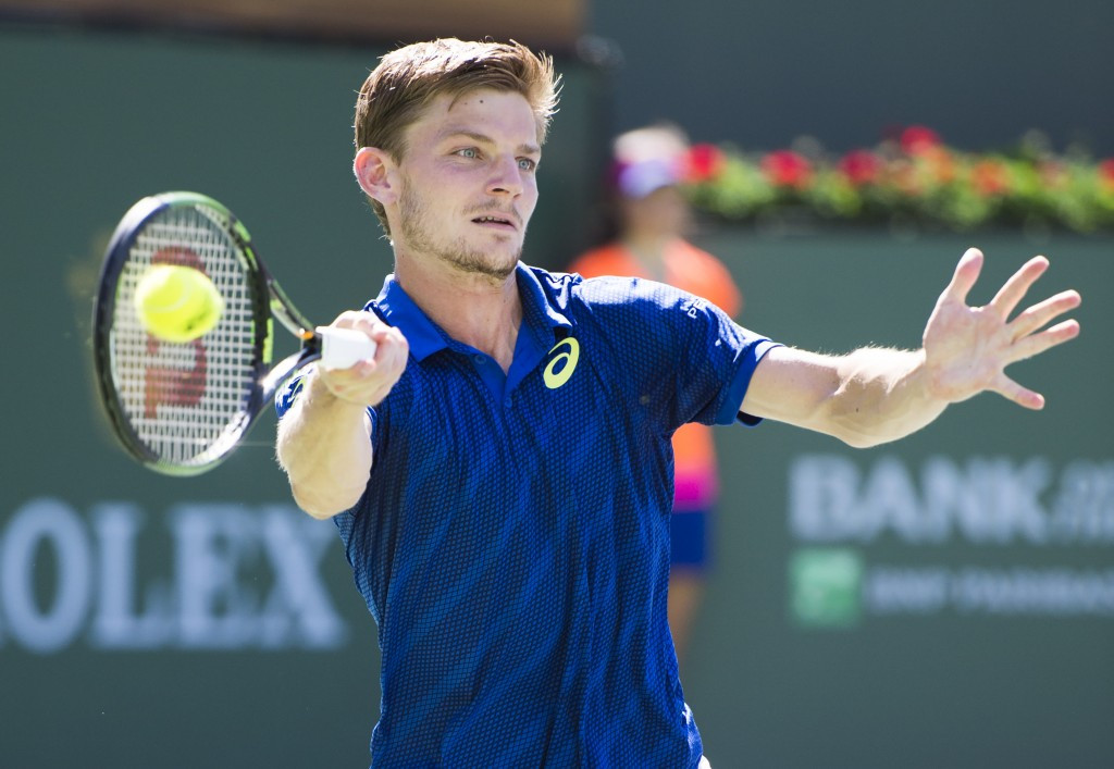 Goffin continues impressive form to reach semi-finals at Indian Wells