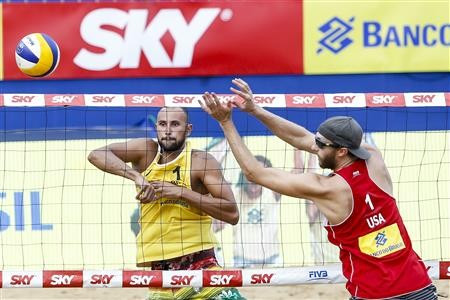 Third seeds advance to second round at FIVB Vitória Open after topping closely contested pool