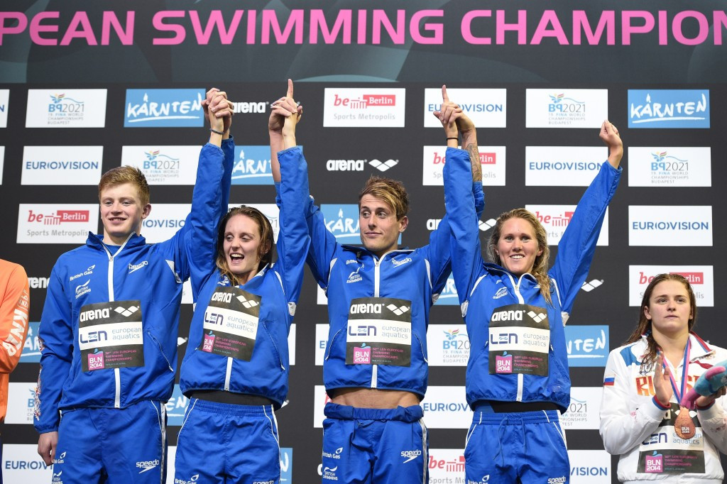British world records set at 2014 European Swimming Championships ratified following successful appeal to CAS