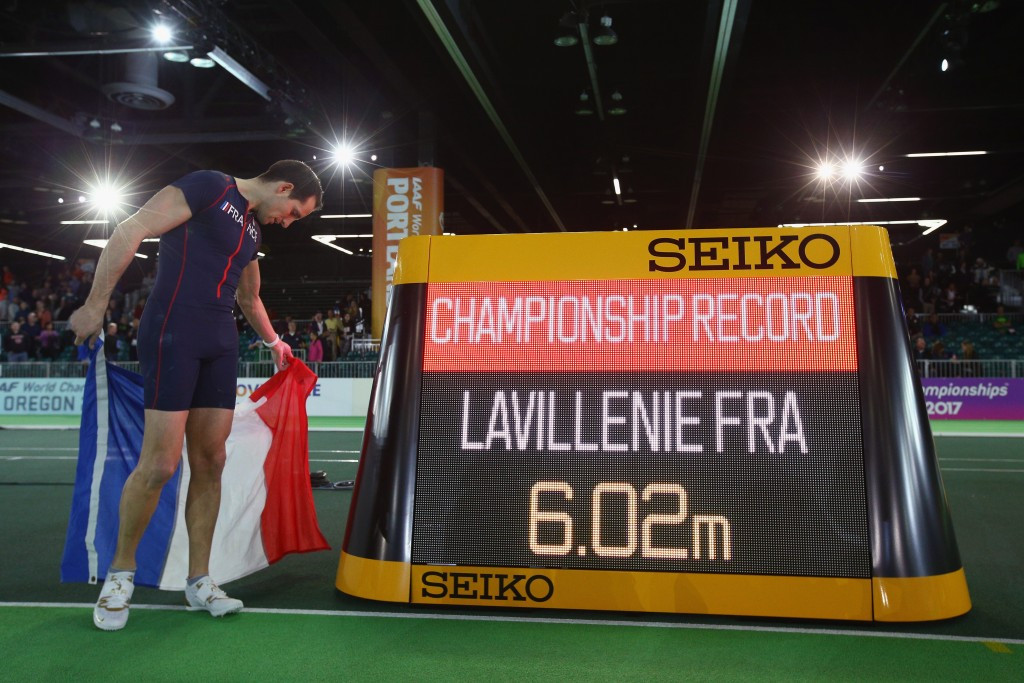 Lavillenie and Suhr claim pole vault spoils as IAAF World Indoor Championships begin