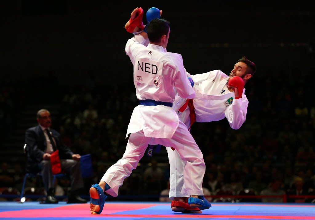 Berens claims home gold on opening night of Karate1-Premier League in Rotterdam