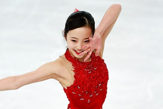 Fourteen-year-old Japanese star Honda wins on World Junior Figure Skating Championship debut