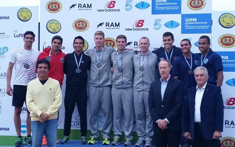 Schrimsher claims men's title at Pan American Modern Pentathlon Championships