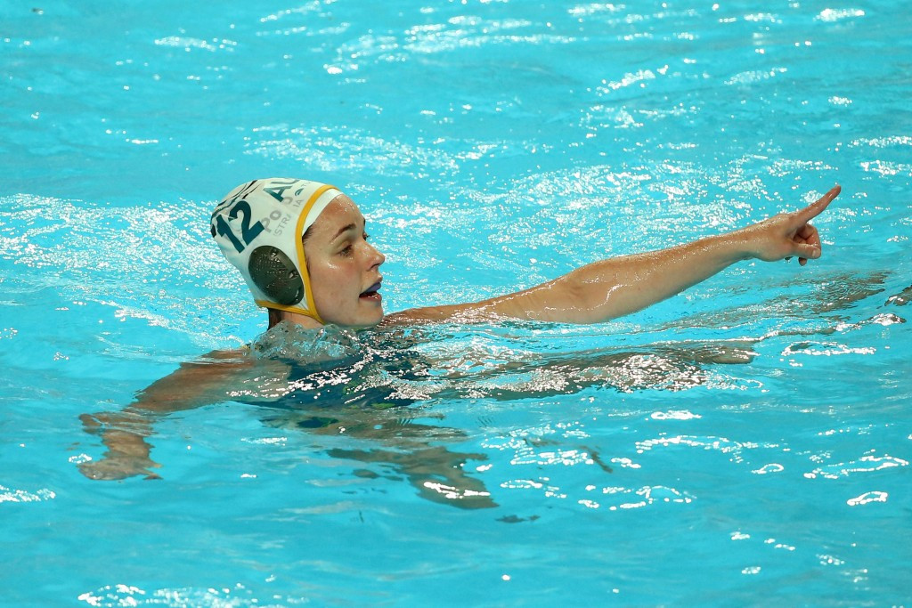 Water polo bronze medallist Nicola Zagame was another to share her story