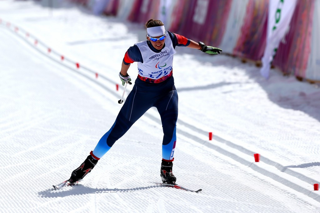 Sochi 2014 gold medallist Anna Milenina continued her domination of the women's standing event