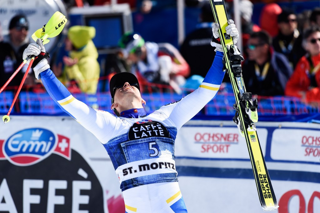 Andre Myhrer ensured Sweden would not end the men's season without a World Cup race winner