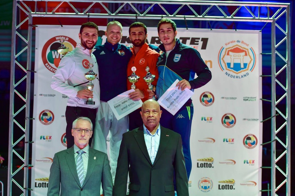 Double Dutch triumph for home crowd to celebrate at Karate1-Premier League in Rotterdam