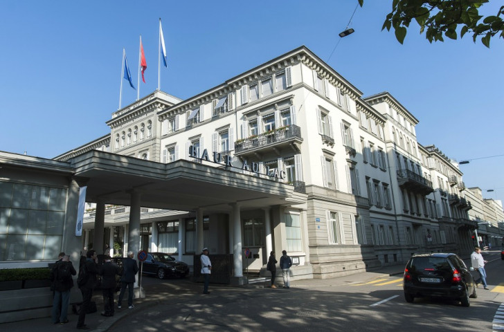 A number of top FIFA officials were arrested at the Baur au Lac hotel in Zurich this morning