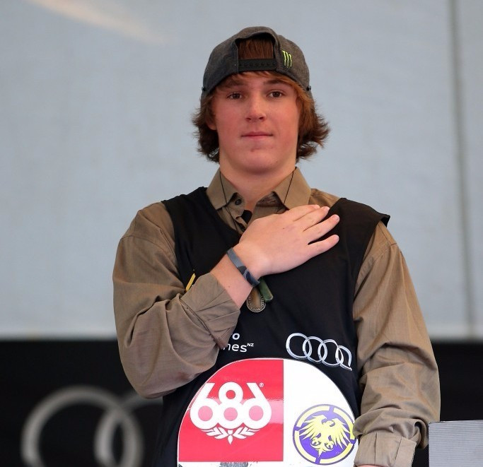 Sixteen-year-old Corning wins FIS Slopestyle World Cup title