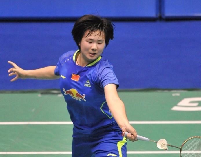 Teenage star He Bingjiao claims shock women's singles title at Swiss Open