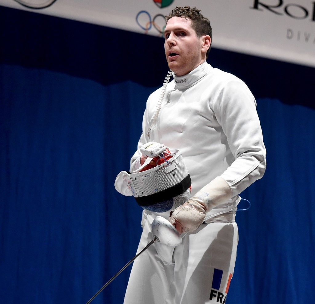 Top seed Grumier cruises to FIE Epee Grand Prix title in Budapest