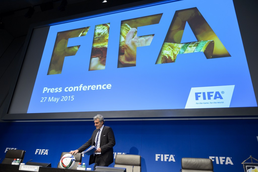 FIFA has been plunged into disarray following a dawn raid by Swiss police that led to the arrest of six of the world football body's officials ©Getty Images
