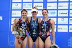 Jorgensen and Brownlee storm to victories at World Triathlon Series in Gold Coast
