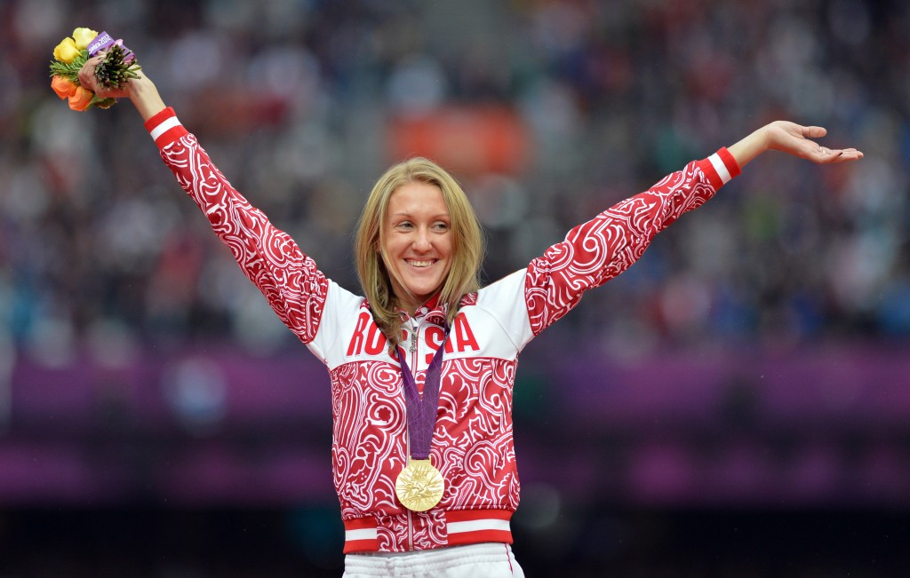 Olympic 3,000 metres steeplecahse gold medallist Yulia Zaripova is another of the Russian athletes involved ©Getty Images