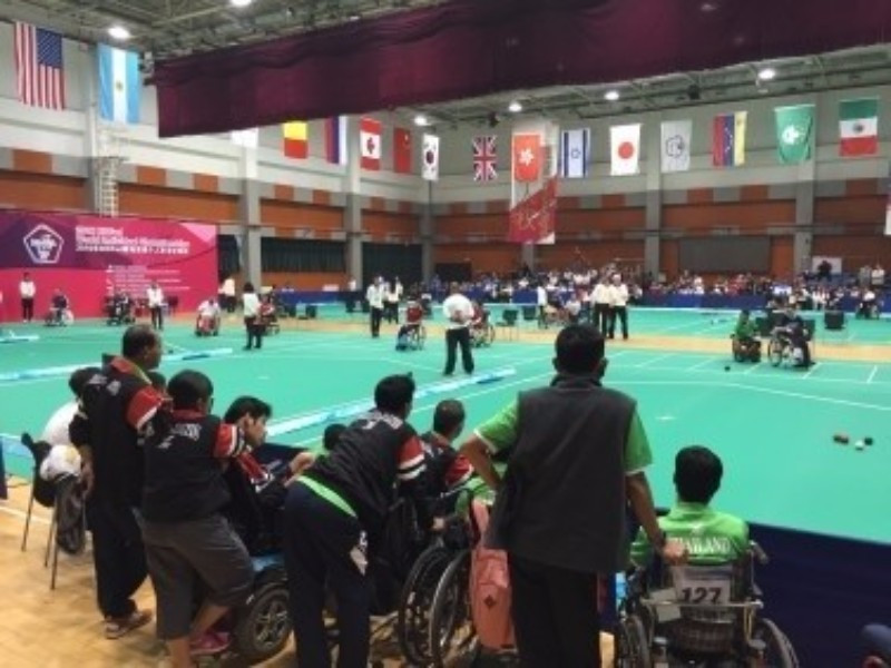 The winners of each class will be assured of a place at this year's Paralympic Games in Rio de Janeiro ©BISFed