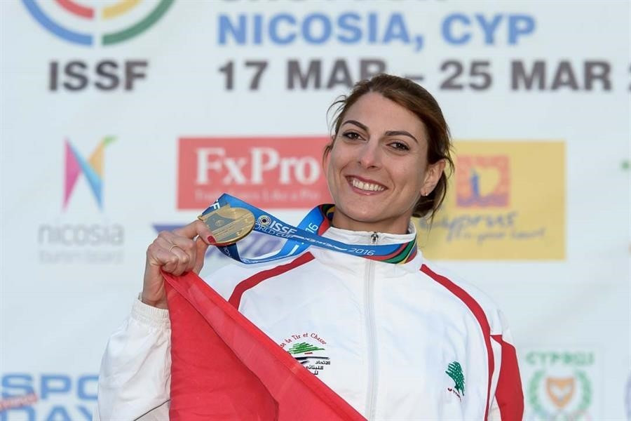 Bassil shows little fault to claim ISSF Shotgun World Cup gold