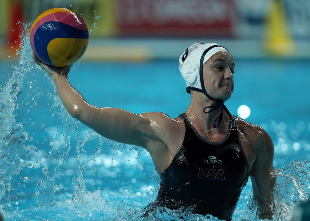 Kiley Neushul scored four times in the USA's victory ©Getty Images