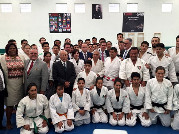 IJF President Vizer attends official opening of judo training centre in Mexico City